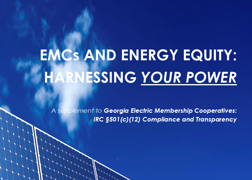 Advocating for Energy Equity at EMCs