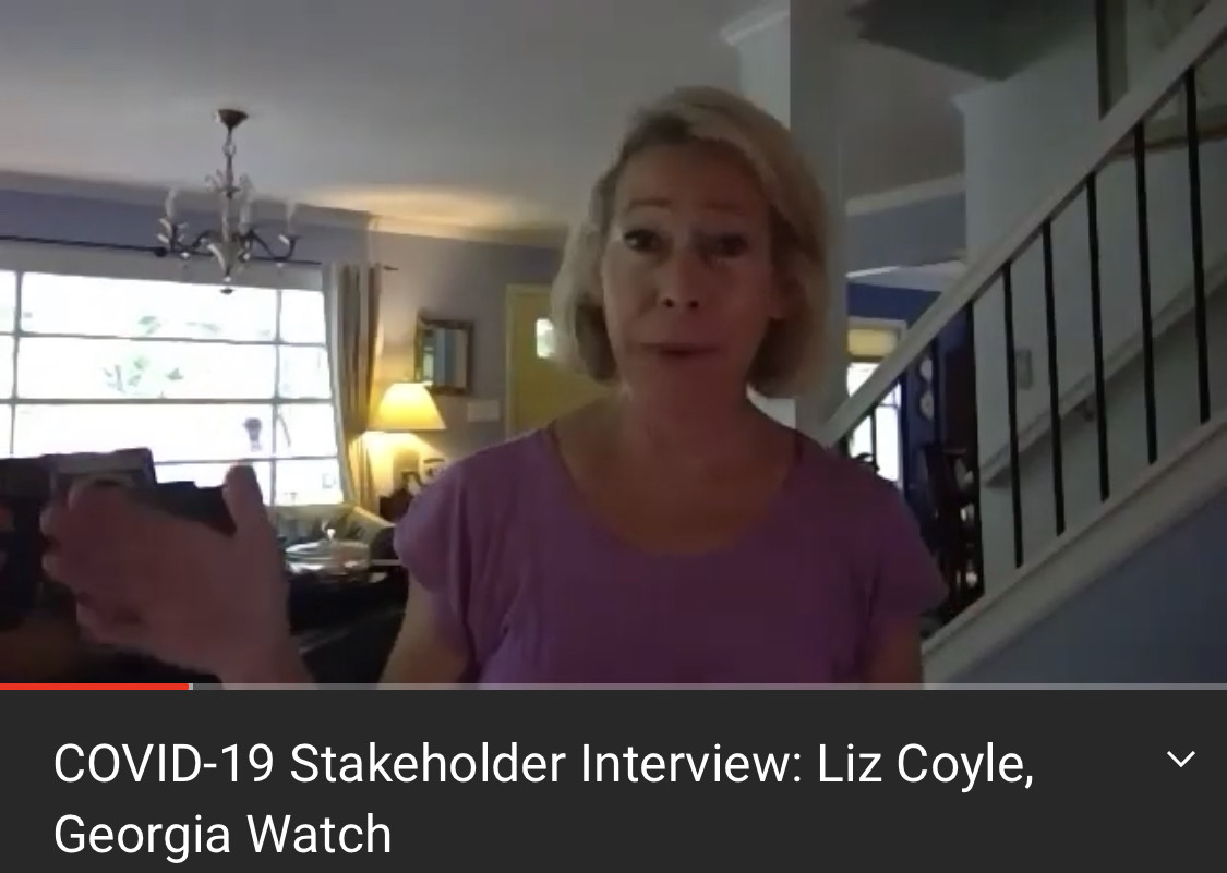 COVID-19 Stakeholder Interview: Liz Coyle, Georgia Watch