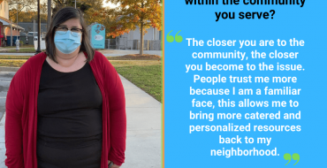 Covid-19 Resilience – Community Voices: Adrianne Proeller, CHW